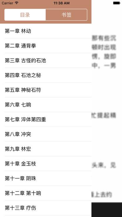 武动乾坤:最火爆网络玄幻小说 screenshot 3