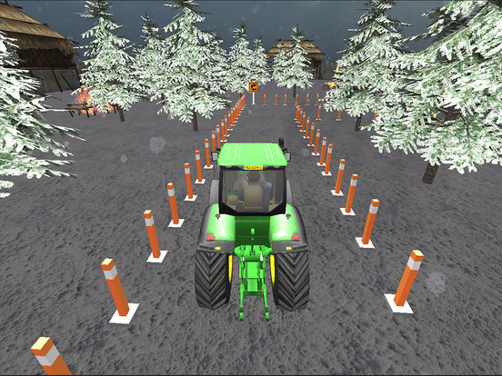 Farming Tractor Parking Driver screenshot 10