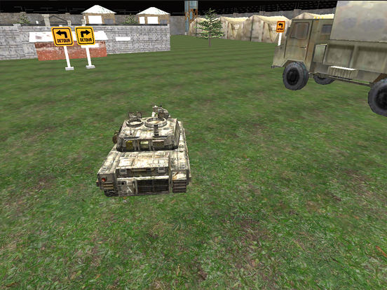 VR Military Tank Parking Driver Army Truck Driving screenshot 5