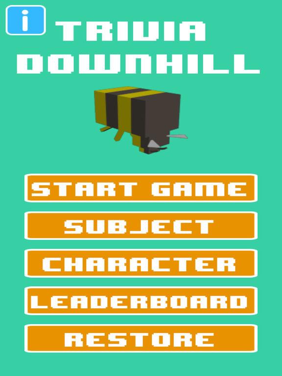 Trivia Downhill screenshot 5