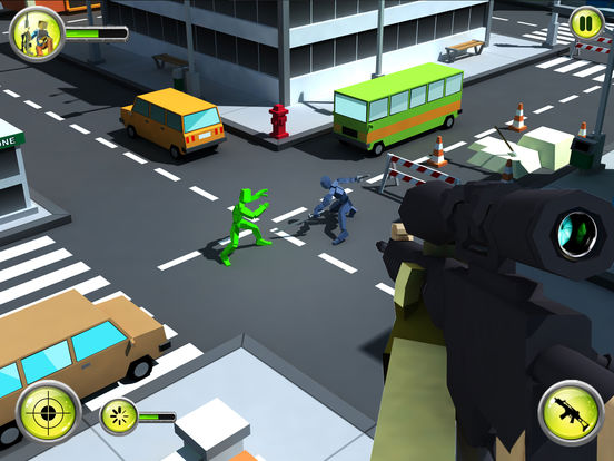Pixel Survival Sniper screenshot 9