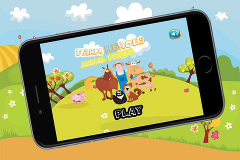 Farm Animals Puzzle Coloring - náhled