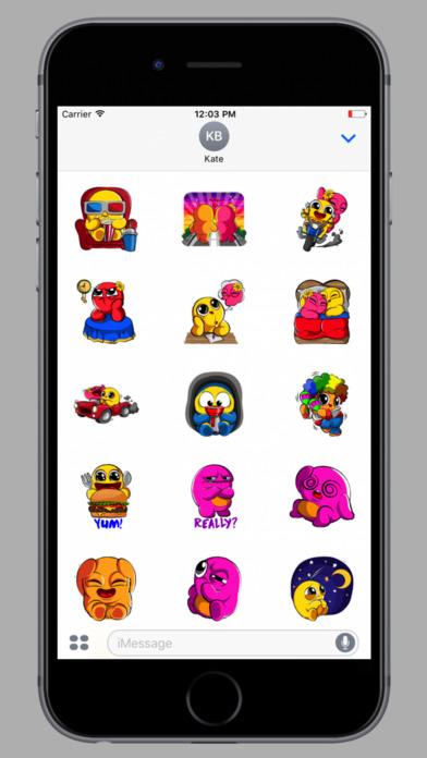 Boo Stickers screenshot 1