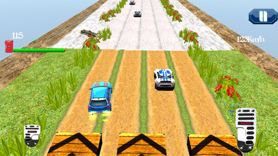 3D Jet Flying Stunts : Real Jump-ing Car Simulator screenshot 1