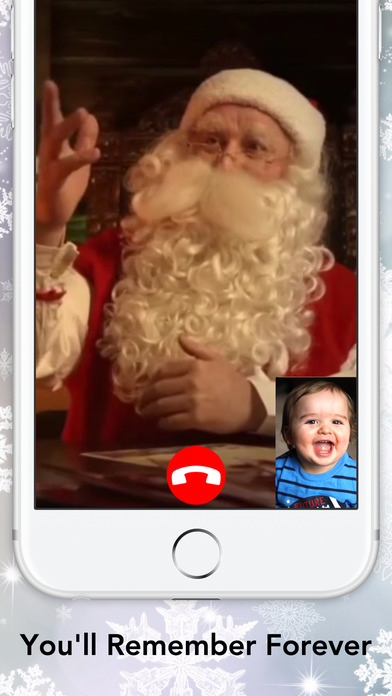 Video Call with Santa screenshot 1