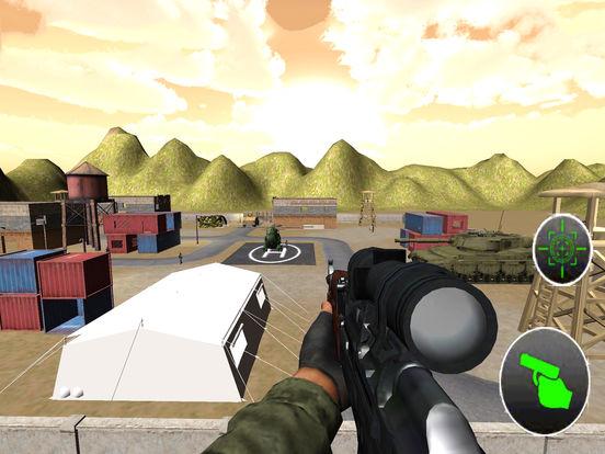 Charlie Heli Sniper Shot : 3D Mobile Kill-er Strik screenshot 7