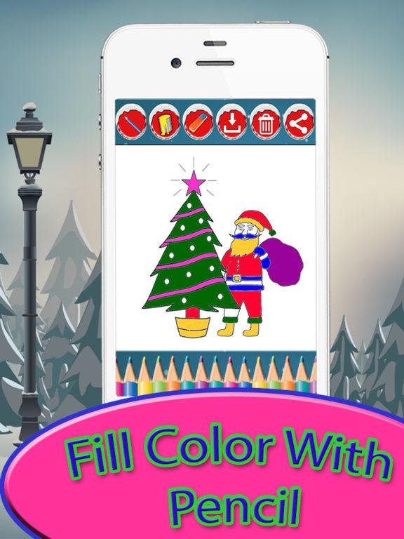 Christmas Drawing Pad - holiday activities for kid screenshot 7