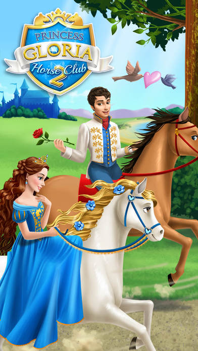 Princess Gloria Horse Club 2 - No Ads screenshot 1