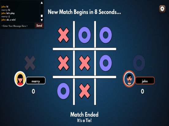 Tic Tac Toe (with friends) screenshot 6