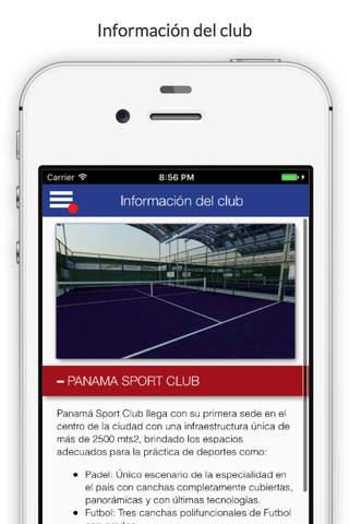 Panama Sport Club - PSC - náhled