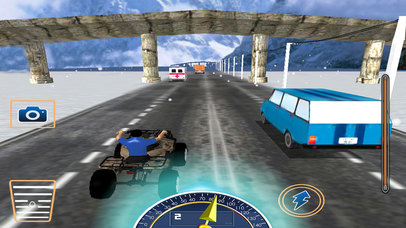 Quad Riding Mania : Cover The Distance To Win screenshot 2
