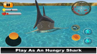 Hungry Shark Simulator : Amazing Fish Attack 2017 screenshot 5