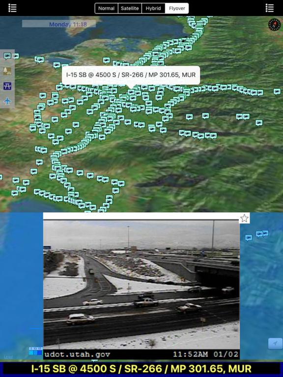 Utah NOAA Radar with Traffic Camera Pro screenshot 6