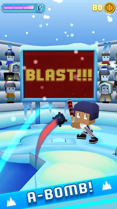 Blocky Baseball: Home Run Hero screenshot 2