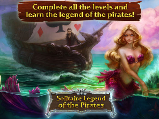 Solitaire Legend of the Pirates screenshot 6
