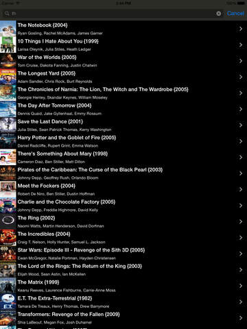Best Movie Ratings Pro - náhled