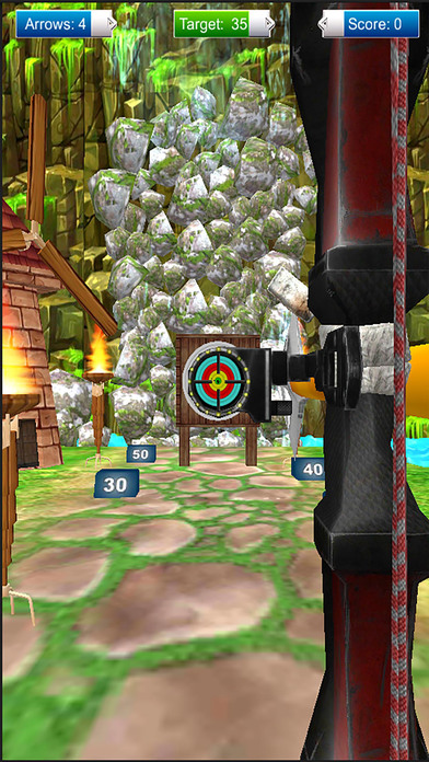 Archery Prince : 3D Real Cross Bow Arrow Game 2017 screenshot 2