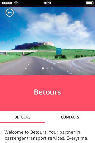 BeTours - náhled