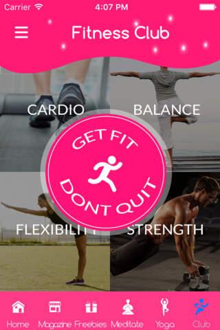 Balance stability and endurance workout - náhled