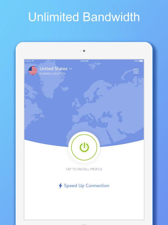 VPN 360 - Unlimited VPN Proxy screenshot 4