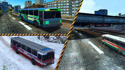 Snow Off-Road Bus Simulator screenshot 1