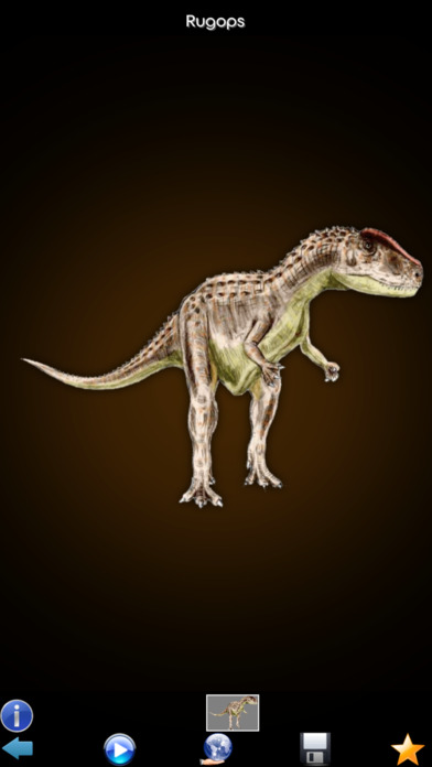 Dynosaurs Encyclopedia screenshot 3