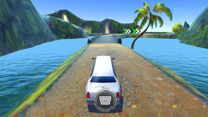 Off-Road Limo Hill Climber : 3D Car Par-king 2016 screenshot 2