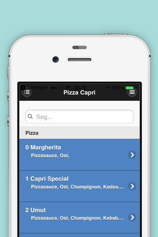 Pizza Capri - Munkebo - náhled