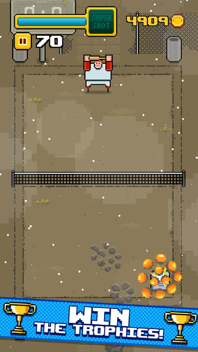 Timber Tennis screenshot 4