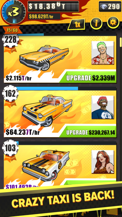 Crazy Taxi Idle Tycoon screenshot 2