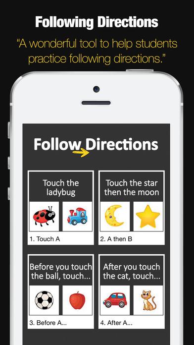 Following Directions Game screenshot 1