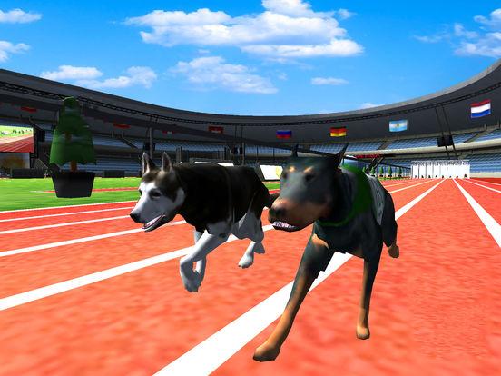 Ultimate Dog Racing : Virtual Stray Simulator 2017 screenshot 7