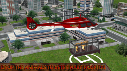 Animal Rescue Helicopter : Heli Flight Simulator screenshot 5