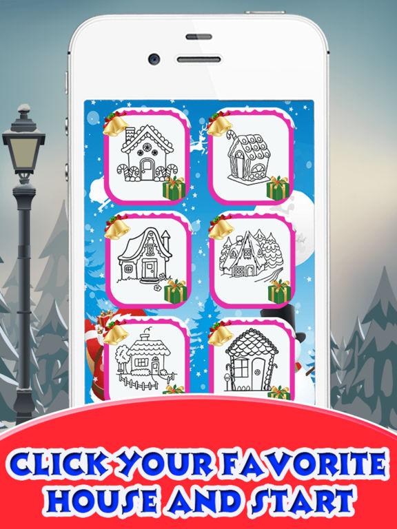 Christmas House Coloring Book screenshot 6