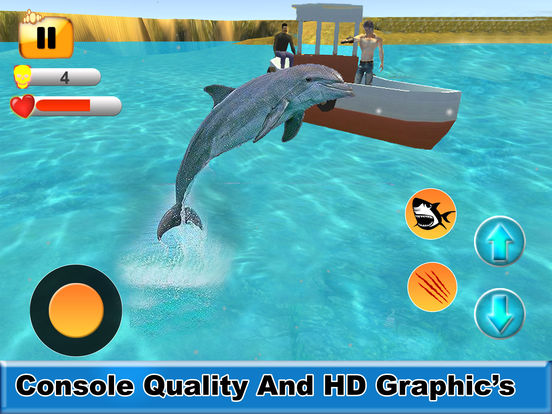 Sea Shark Attack : Eat Swimmers To Complete Level screenshot 9