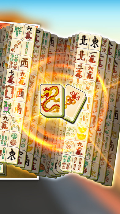 Majong Classic 3D - Mahjong Deluxe Pro screenshot 2