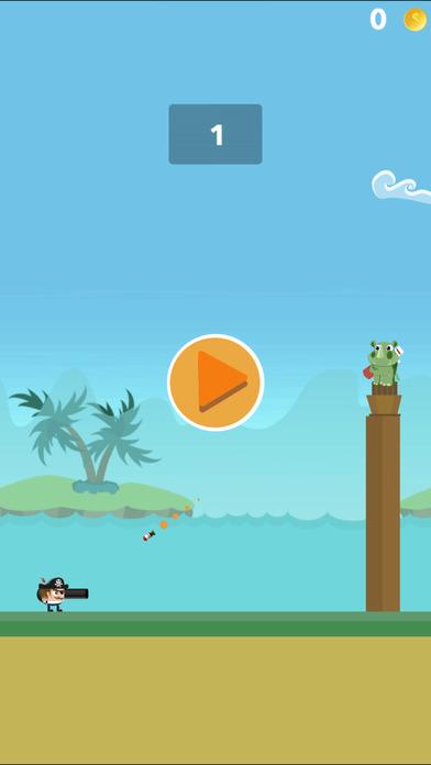 Crazy Pirate Cannon Combat - crazy gun battle screenshot 1