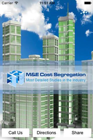 M&E Cost Segregation - náhled