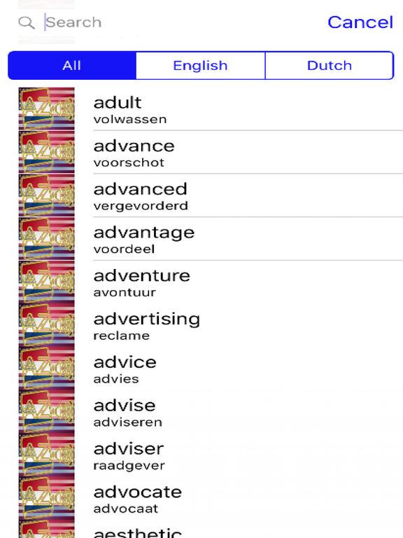 Dutch Dictionary GoldEdition screenshot 8