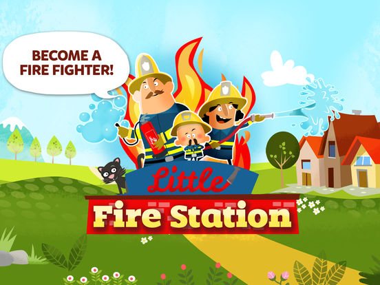 Little Fire Station For Kids screenshot 6