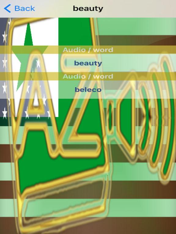 Esperanto Dictionary GoldEdition screenshot 10