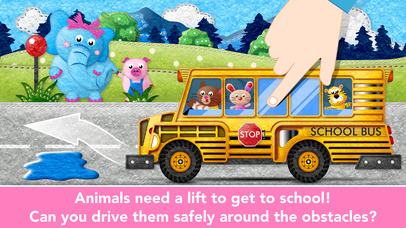 Kids Trucks in Town - Adventure Games for Toddlers screenshot 4