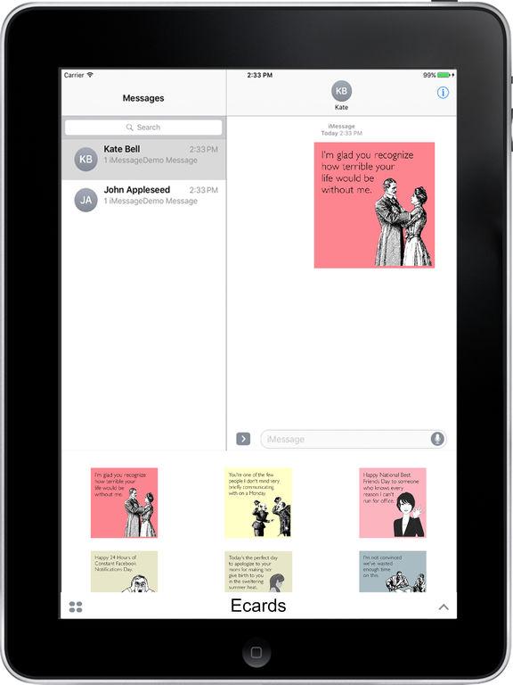 SomeEcards-Ecard stickers screenshot 4