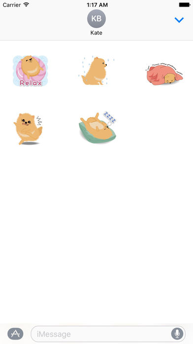 Pomeranian Dog - Pommoji  Moji & Sticker screenshot 3