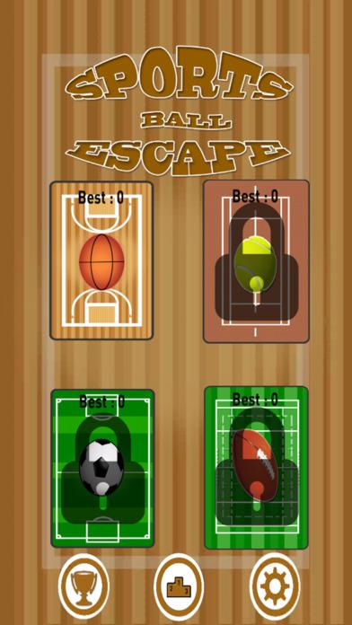 Sports Ball Escape screenshot 1
