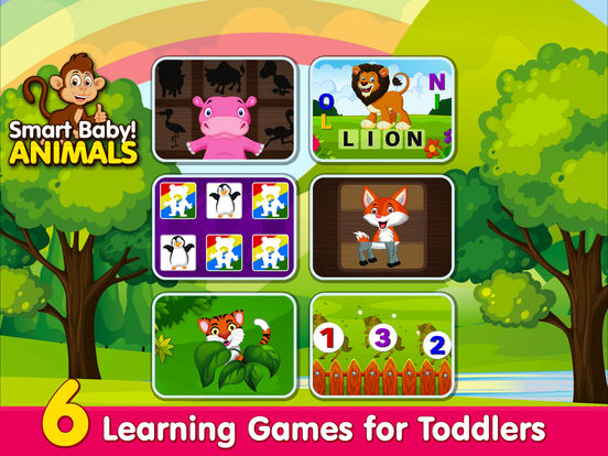 Smart Baby! Animals: ABC Learning Kids Games, Apps screenshot 7