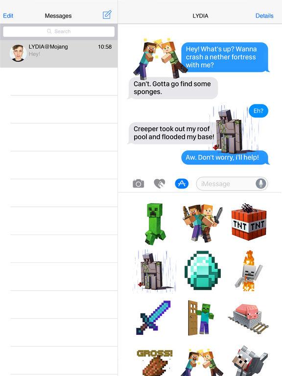 Minecraft Sticker Pack screenshot 4