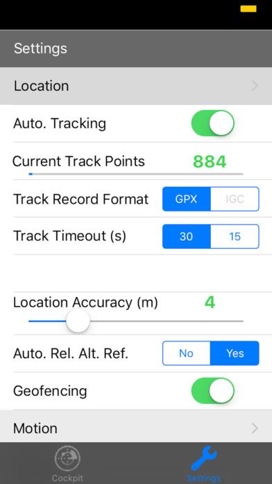 eVario - Variometer Paraglider screenshot 3