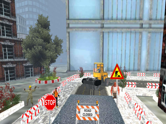 Road Roller and City Builder with Excavator screenshot 7