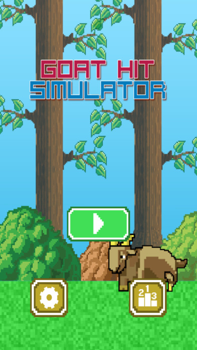 Goat Hit Simulator screenshot 1